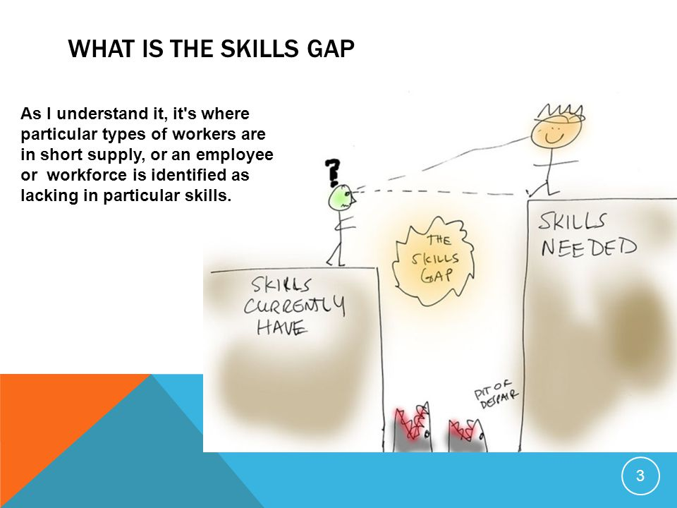 What is the skills gap