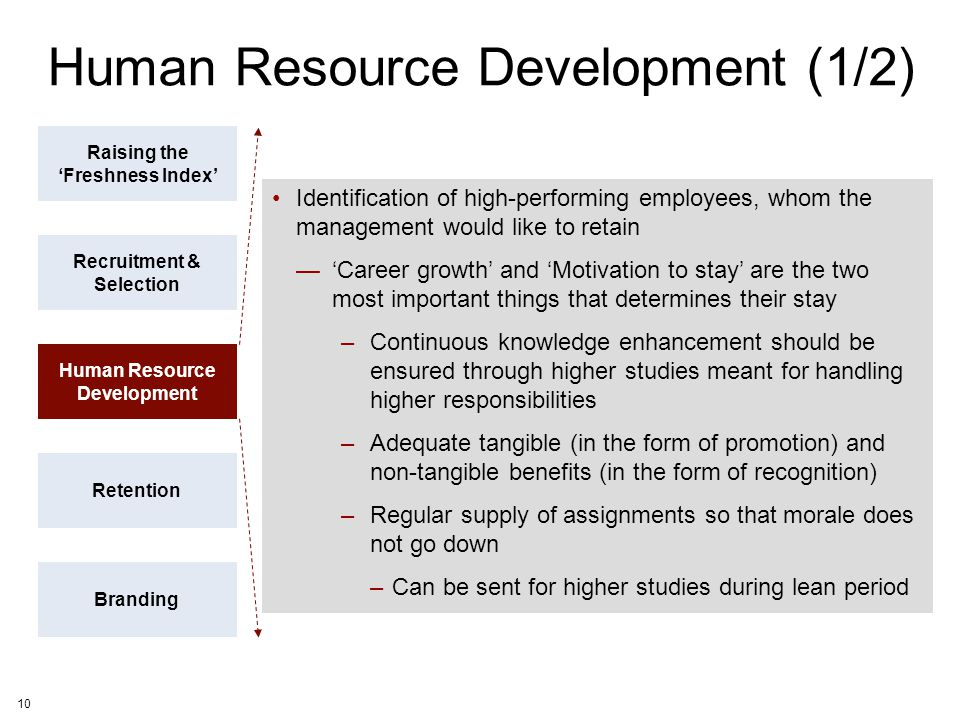 Human Resource Development (1/2)