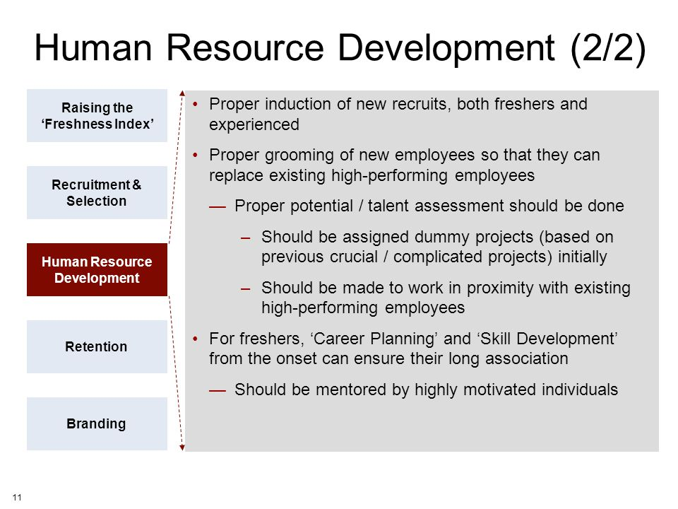 Human Resource Development (2/2)