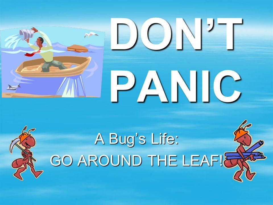 A Bug's Life: GO AROUND THE LEAF!