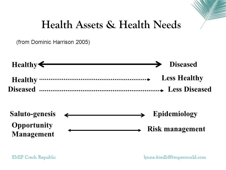 Health Assets & Health Needs