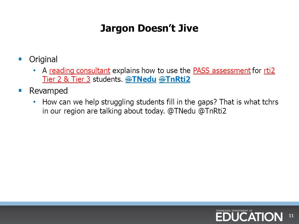 Jargon Doesn't Jive Original Revamped