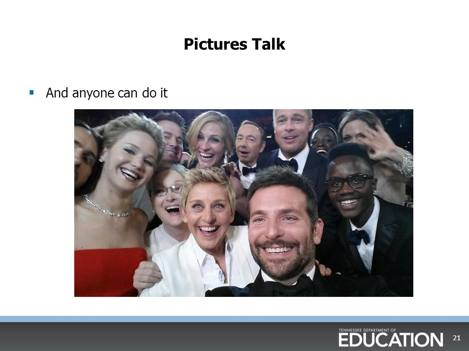 Pictures Talk And anyone can do it