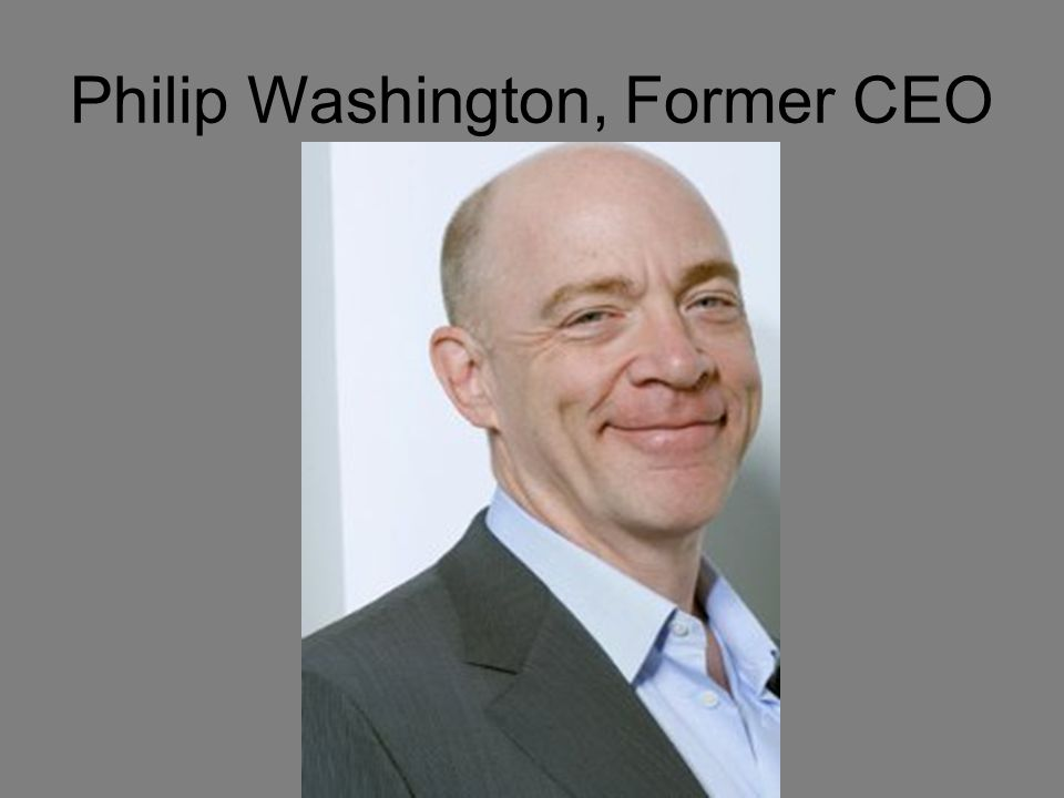 Philip Washington, Former CEO