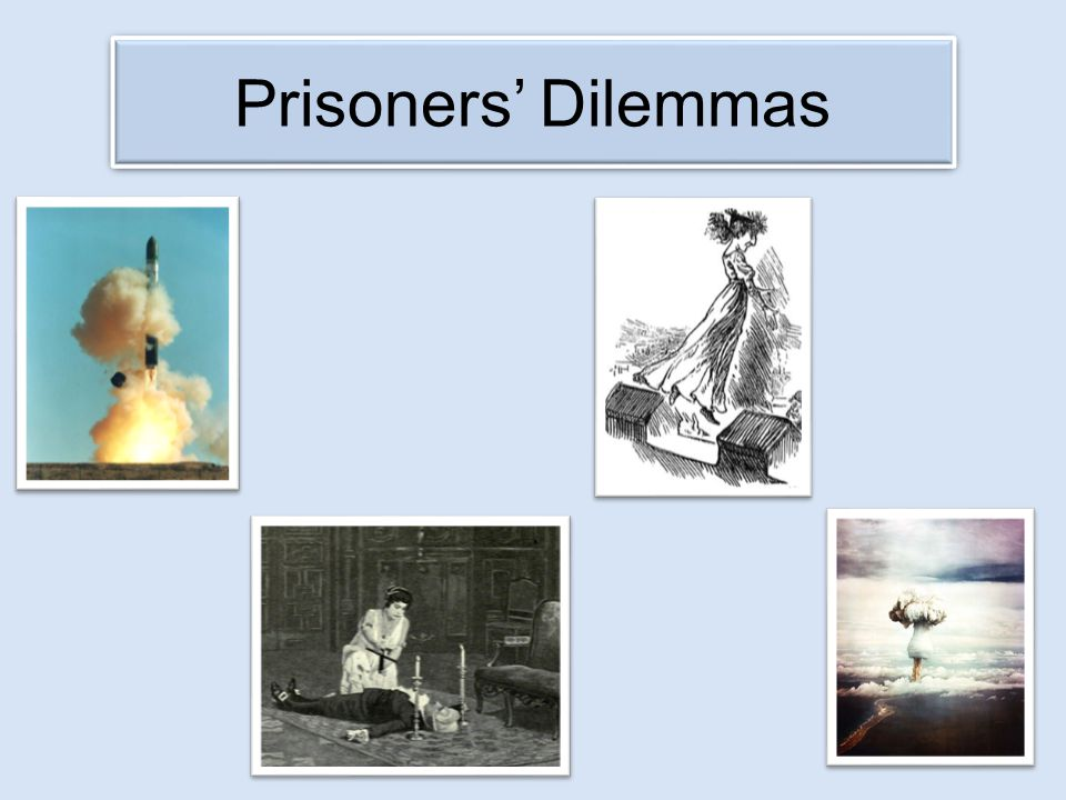 Prisoners' Dilemmas