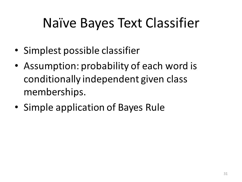 Naïve Bayes Text Classifier