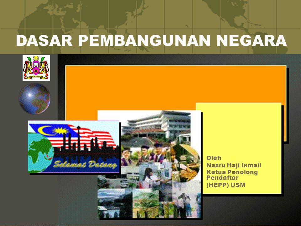Oleh Nazru Haji Ismail Ketua Penolong Pendaftar (HEPP) USM