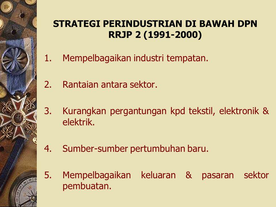 STRATEGI PERINDUSTRIAN DI BAWAH DPN RRJP 2 (1991-2000)