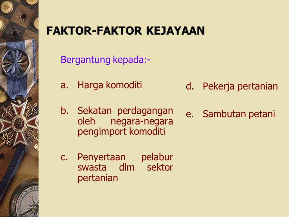 FAKTOR-FAKTOR KEJAYAAN