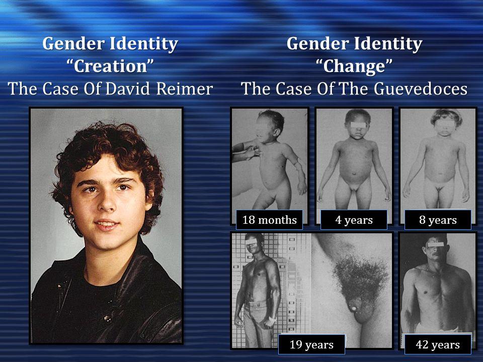 Gender Identity Creation Gender Identity Change