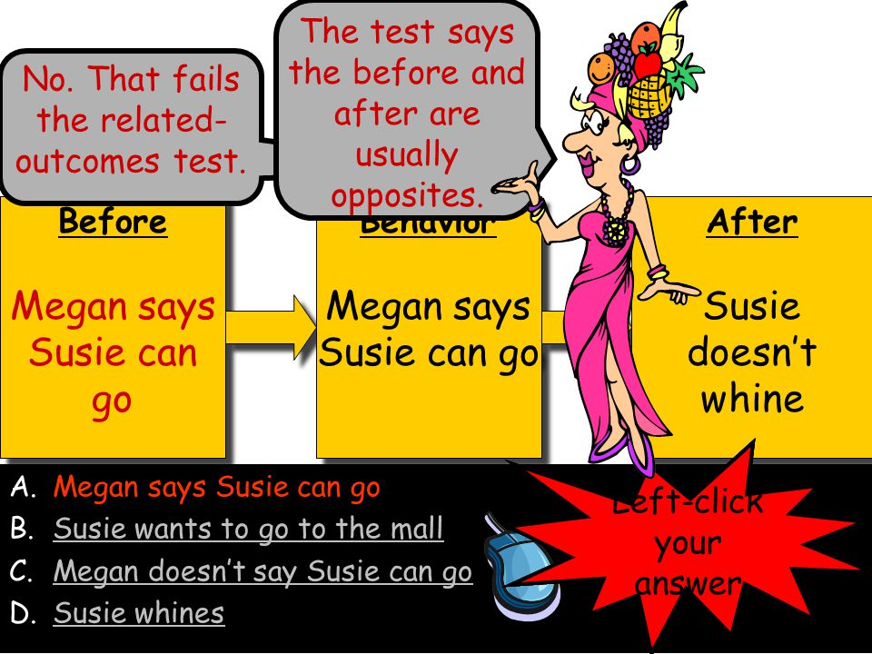 Megan says Susie can go Megan says Susie can go Susie doesn't whine