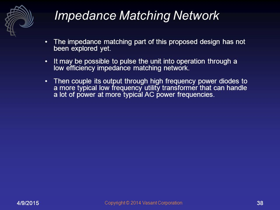 Impedance Matching Network