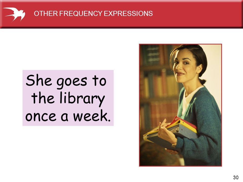 OTHER FREQUENCY EXPRESSIONS