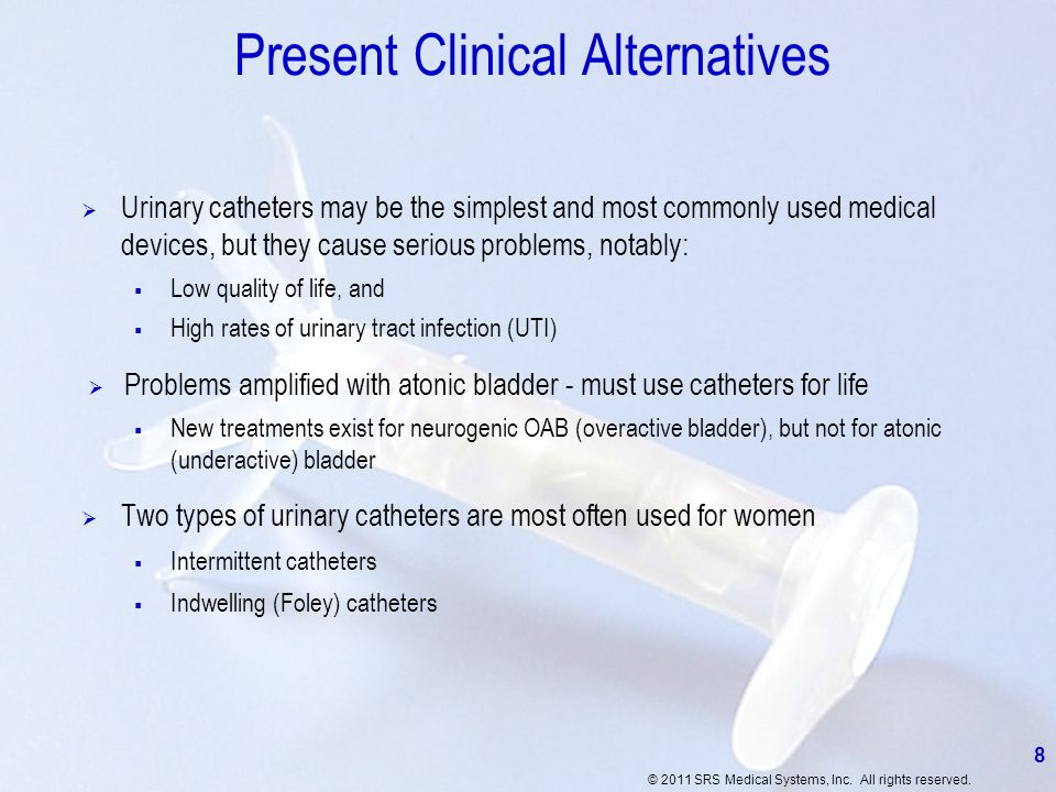 Present Clinical Alternatives
