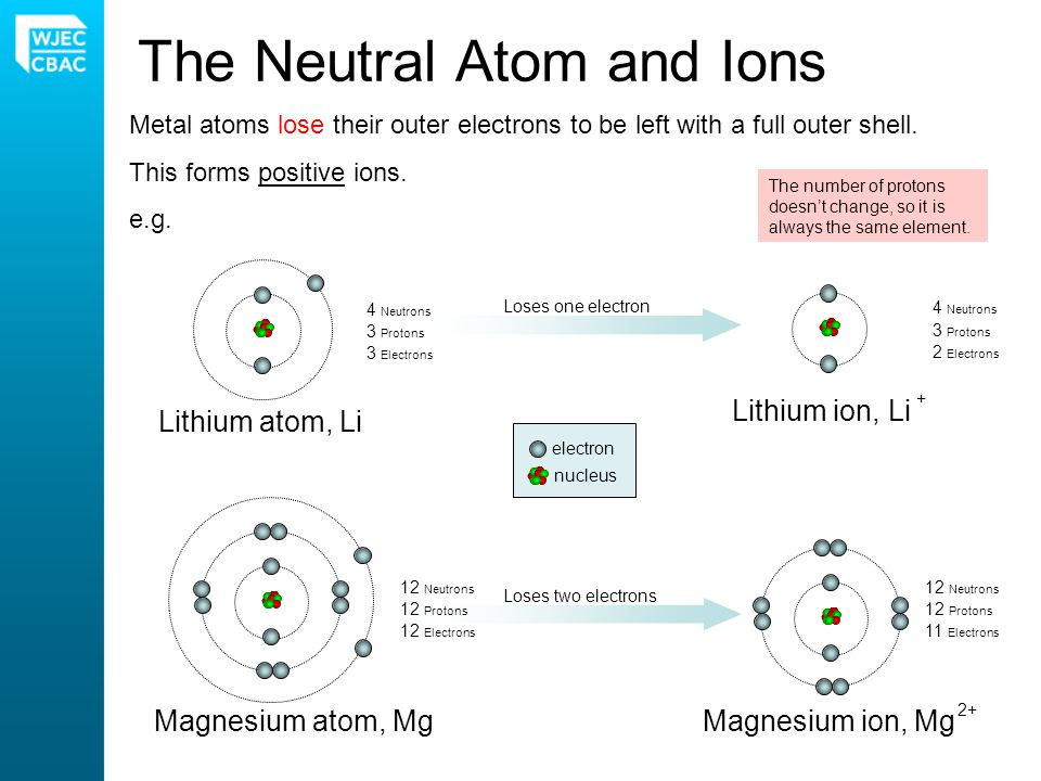The Neutral Atom and Ions