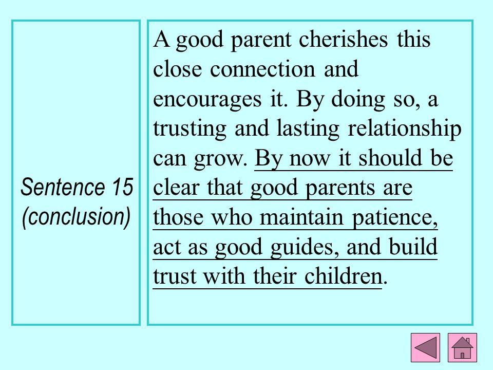 Sentence 15 (conclusion)