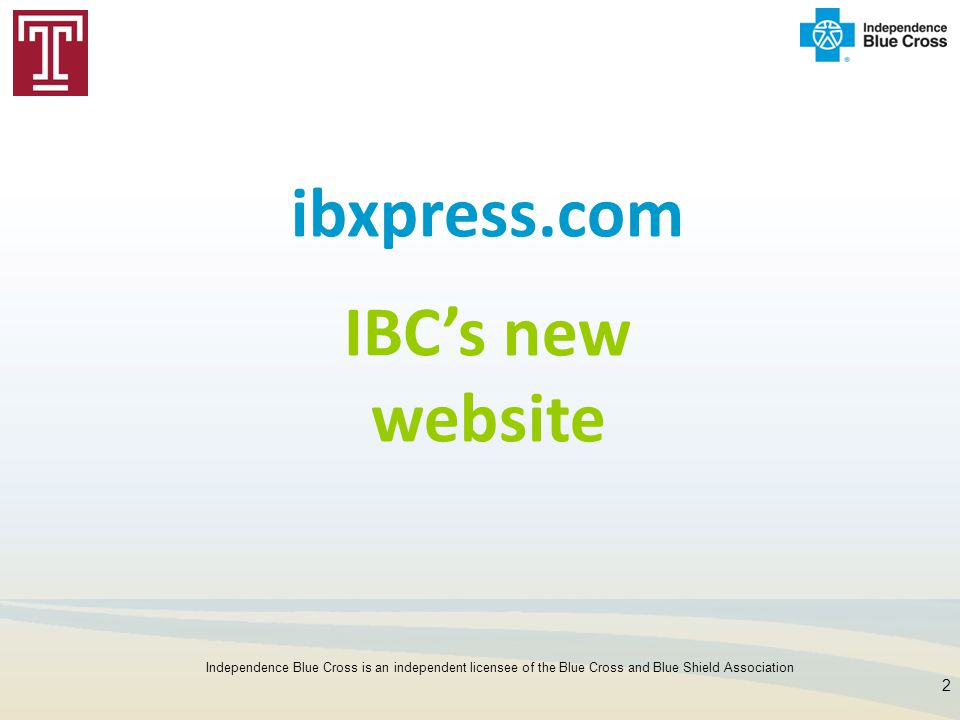 ibxpress.com IBC's new website