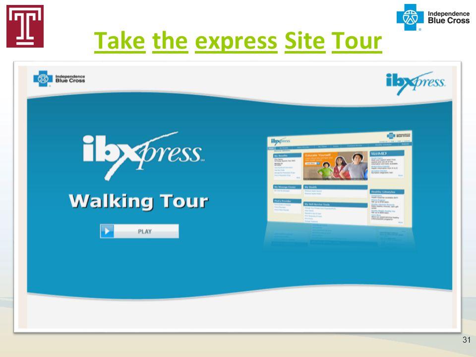 Take the express Site Tour