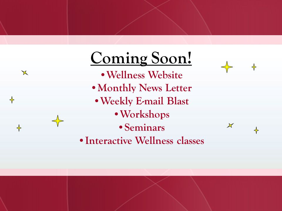 Interactive Wellness classes