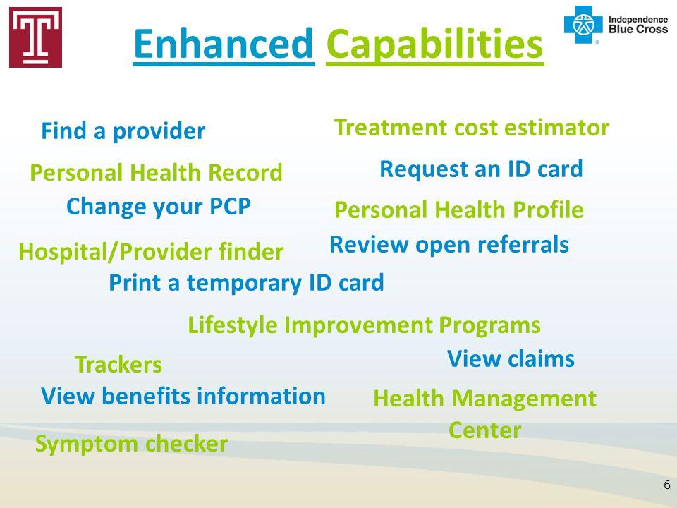 Enhanced Capabilities