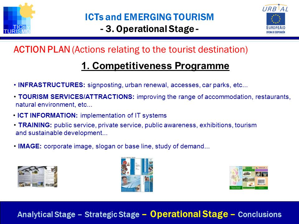 ICTs and EMERGING TOURISM - 3. Operational Stage -