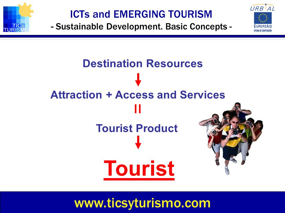 ICTs and EMERGING TOURISM - Sustainable Development. Basic Concepts -