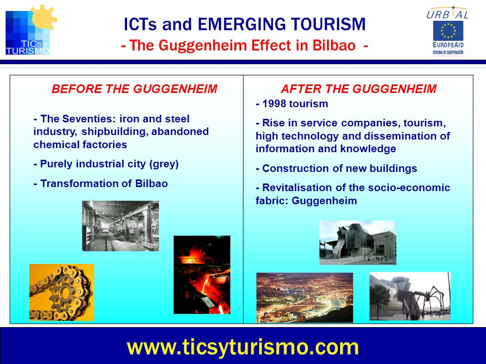 ICTs and EMERGING TOURISM - The Guggenheim Effect in Bilbao -