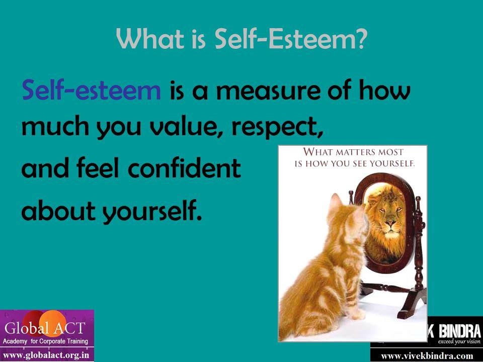 What is Self-Esteem.