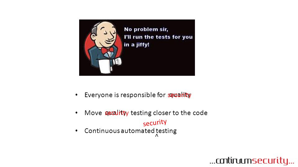 Everyone is responsible for Move testing closer to the code
