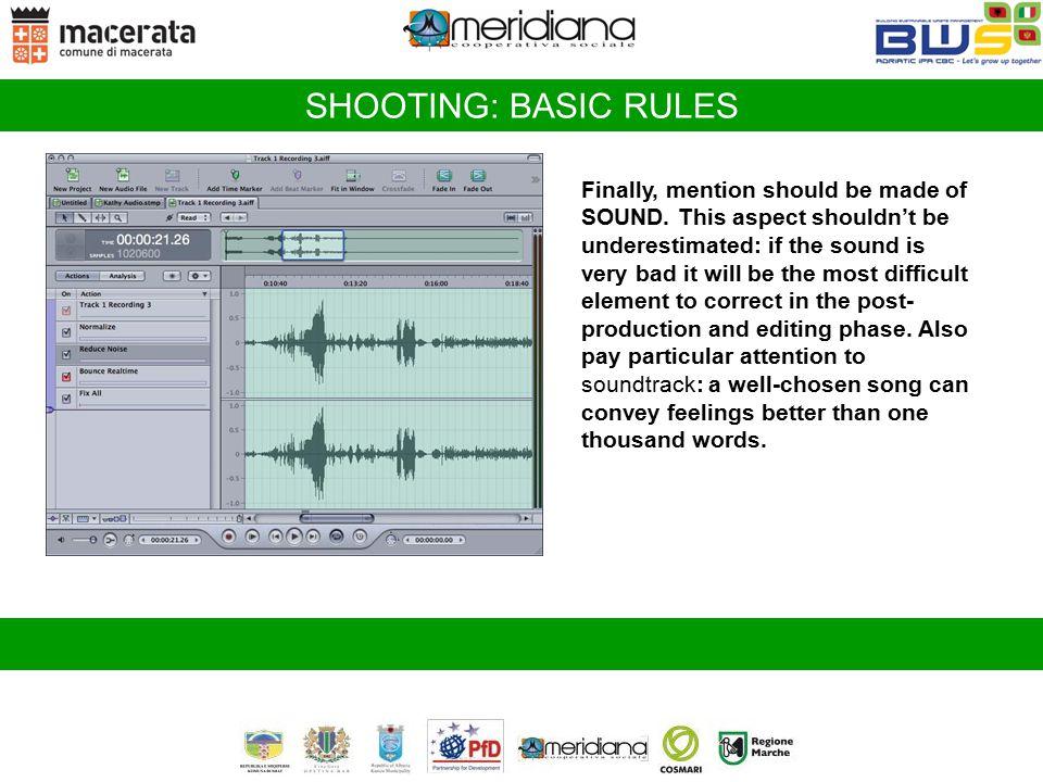 SHOOTING: BASIC RULES