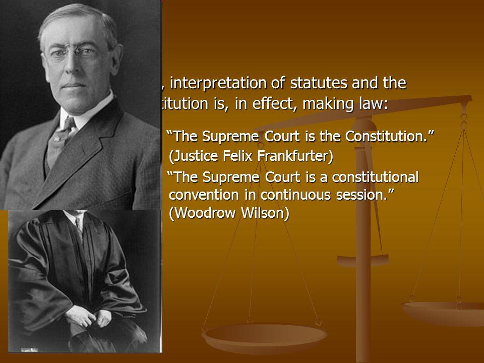 3. Thus, interpretation of statutes and the