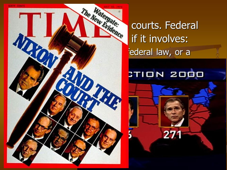 VI. Jurisdiction of federal courts. Federal