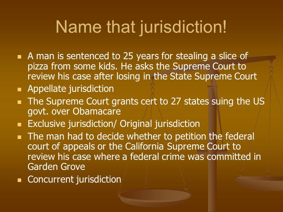 Name that jurisdiction!