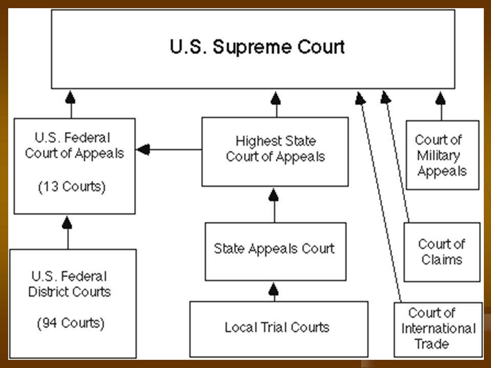 VII. Dual system of courts: In our federal