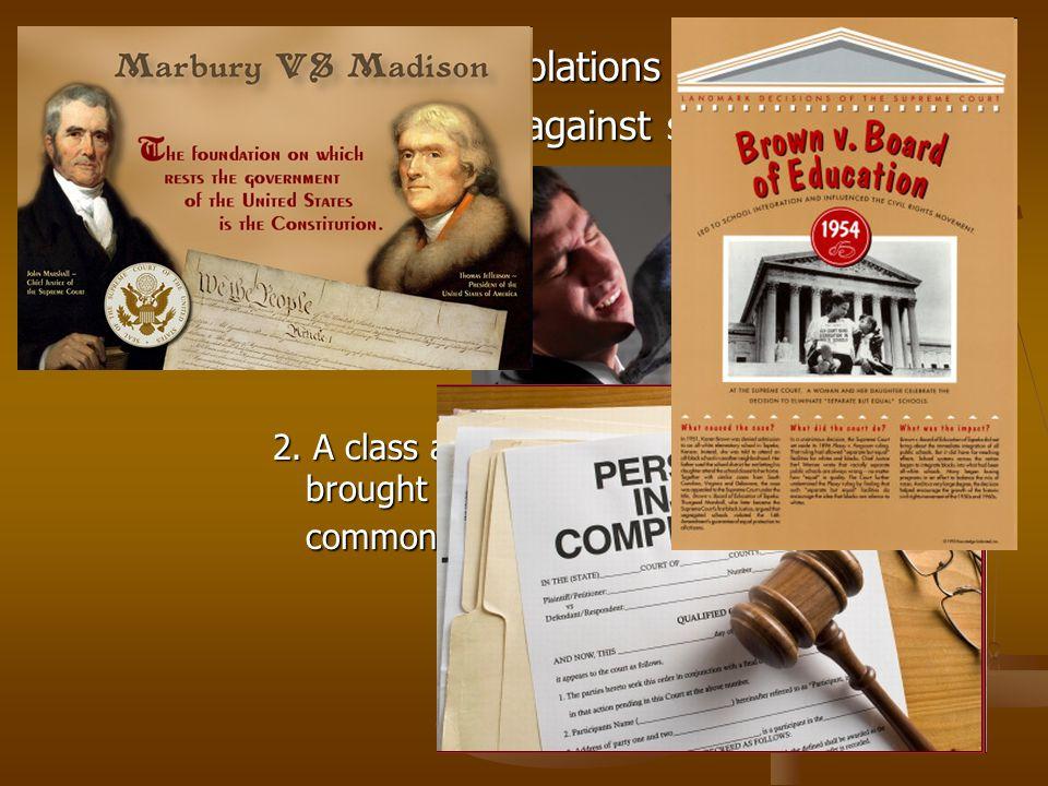 C. Criminal: concerns violations of the criminal