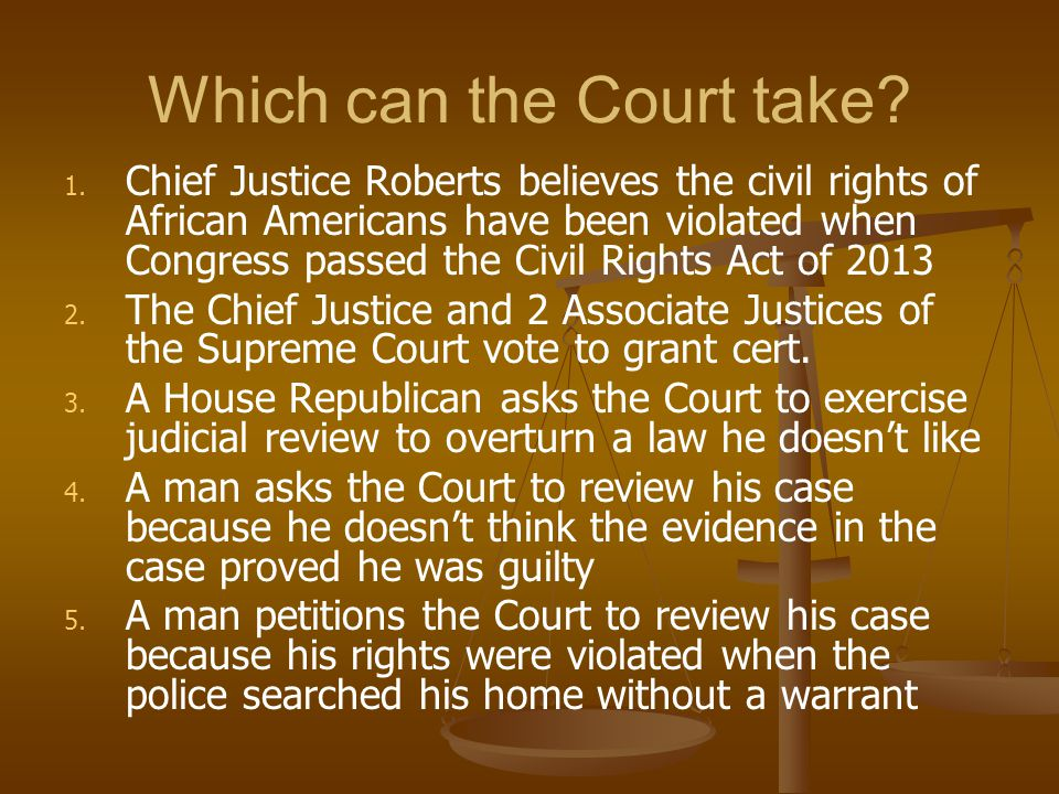 Which can the Court take