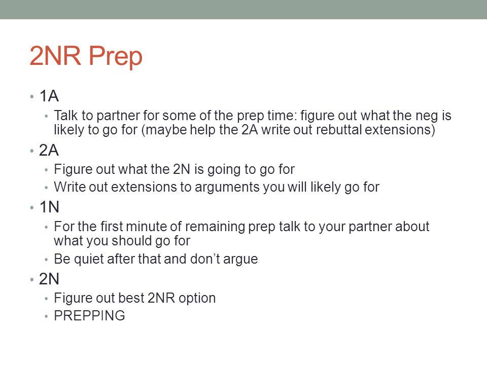 2NR Prep 1A.