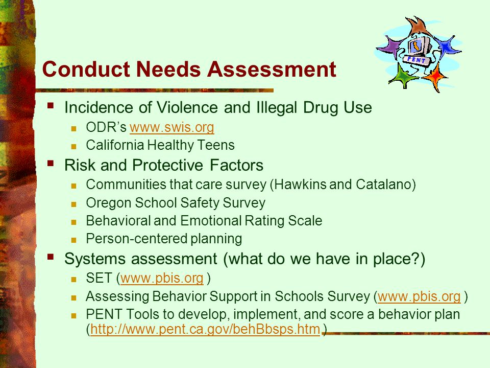 Conduct Needs Assessment
