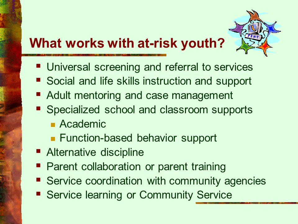What works with at-risk youth