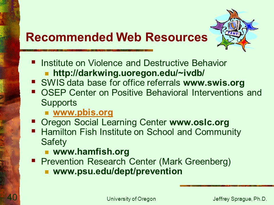 Recommended Web Resources