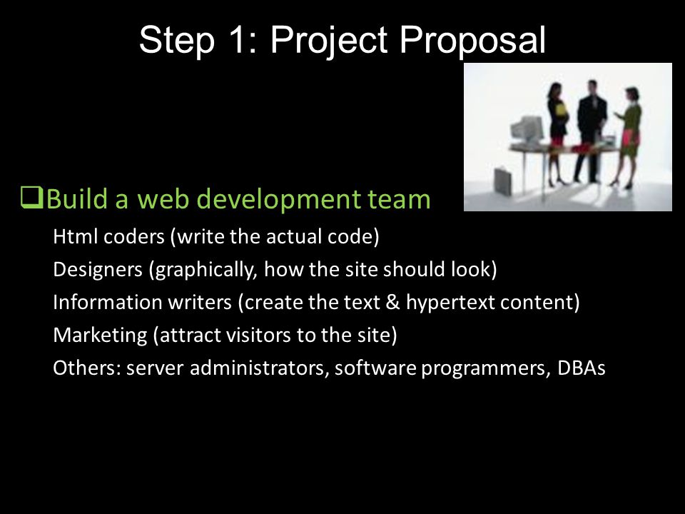 Step 1: Project Proposal