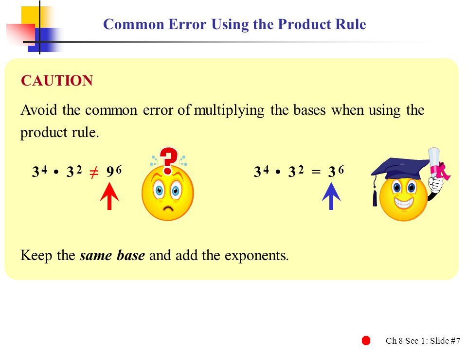 Common Error Using the Product Rule