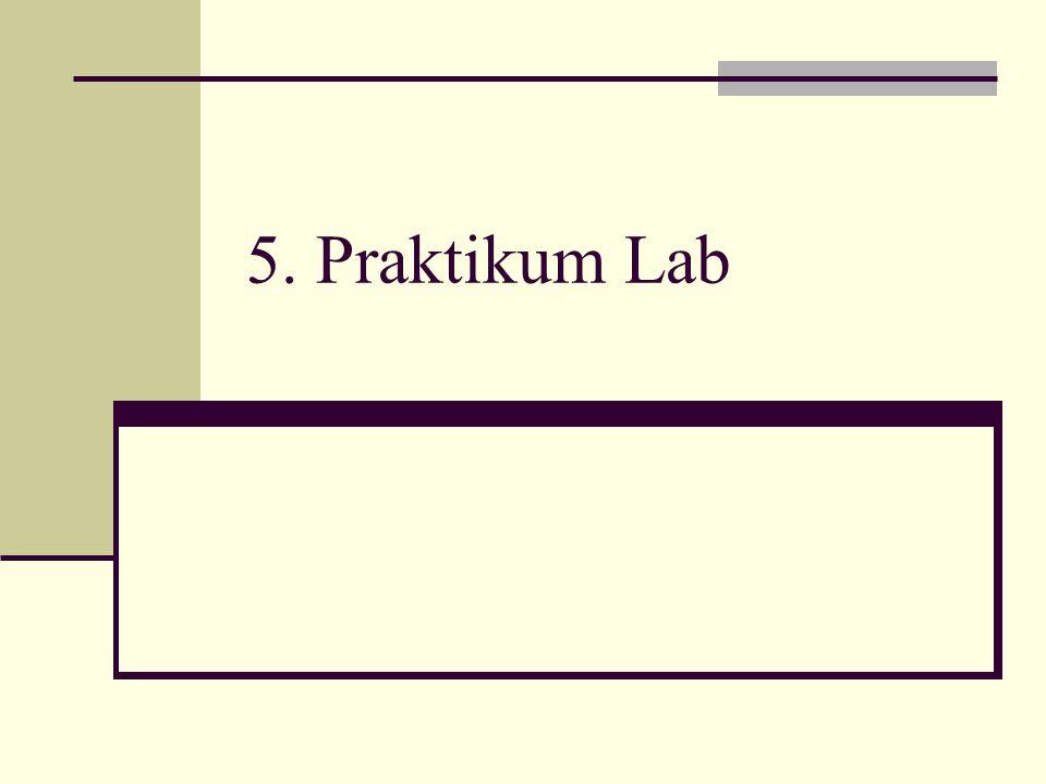 5. Praktikum Lab