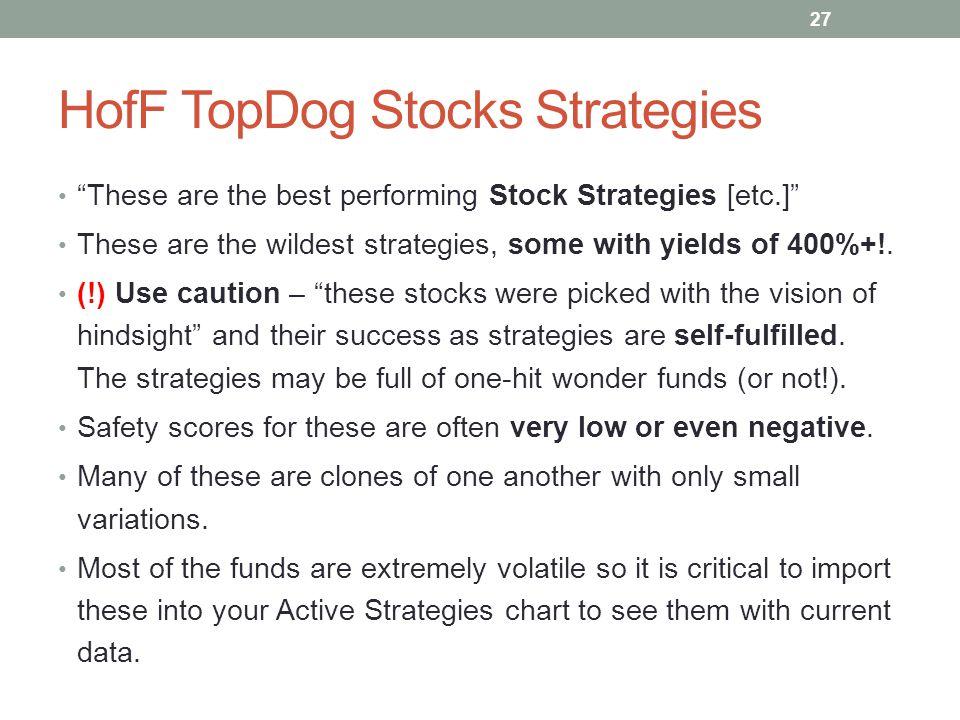 HofF TopDog Stocks Strategies