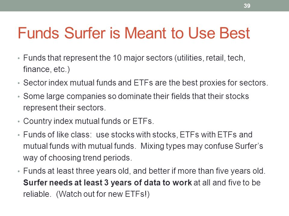 Funds Surfer is Meant to Use Best