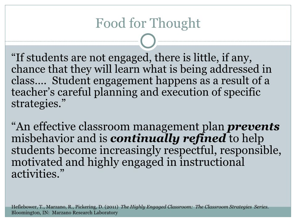 Strategies for Motivating Students
