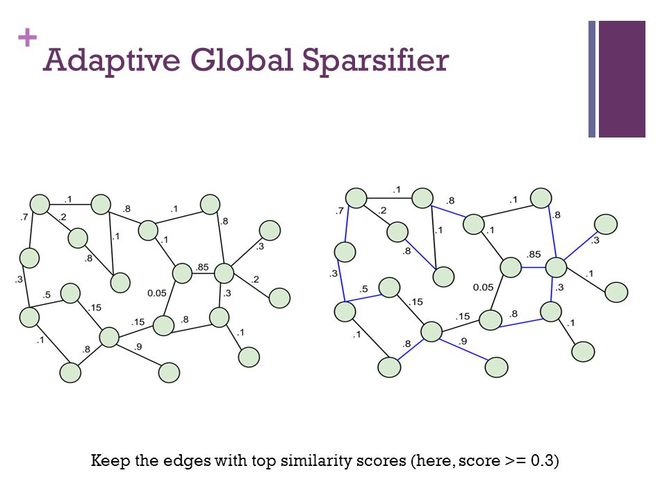 Adaptive Global Sparsifier