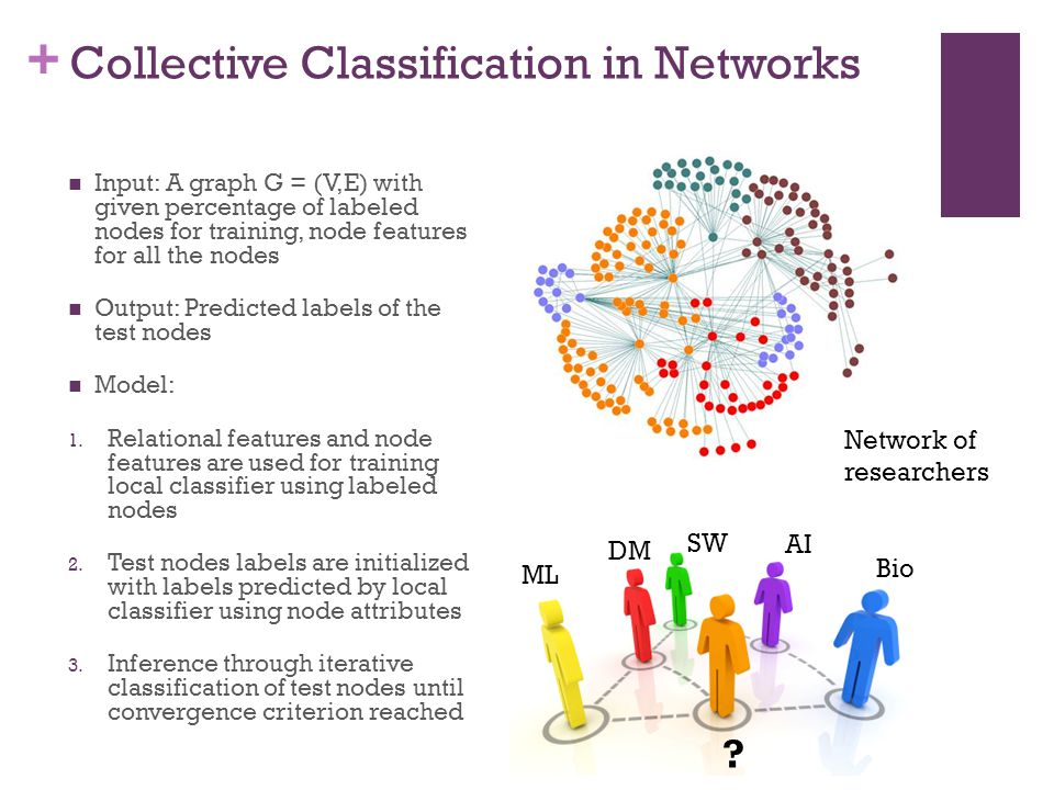 Collective Classification in Networks