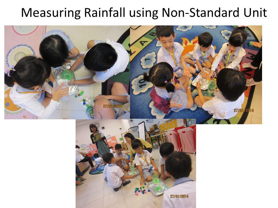 Measuring Rainfall using Non-Standard Unit