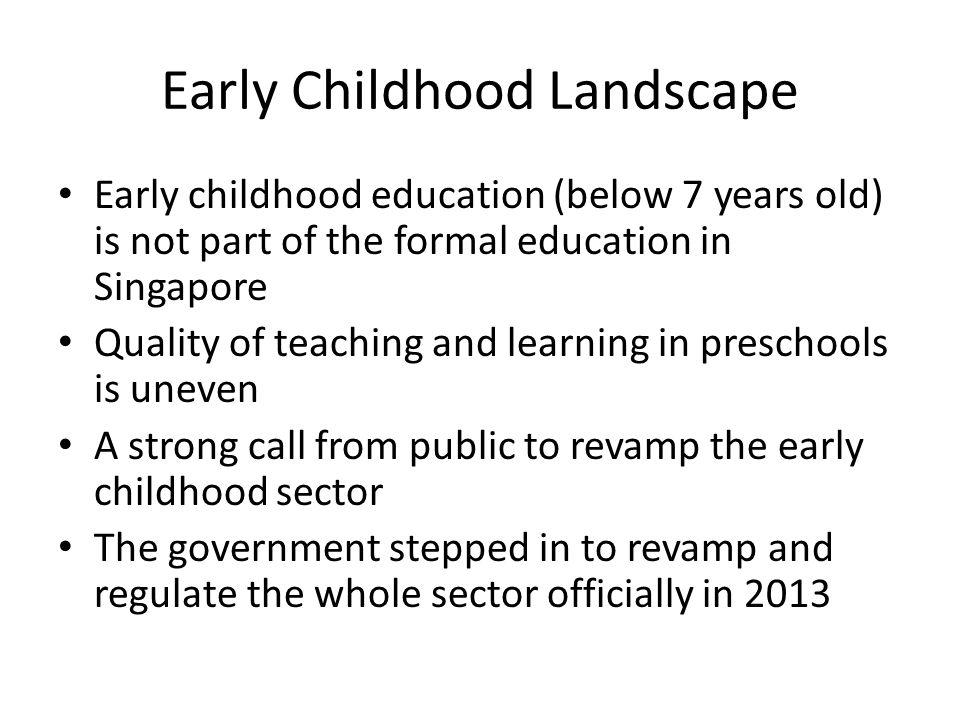 Early Childhood Landscape